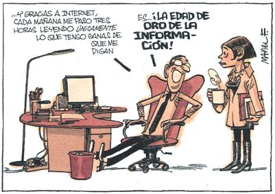 Manel Fontdevila, en su 'Esto es importantísimo', 'blog del diario 'Público', el lunes, 26 de abril de 2010.