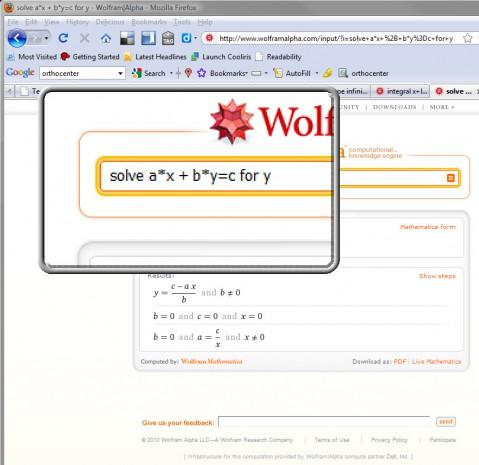 http://teachingcollegemath.com/2010/03/wolfram-alpha-discovery/