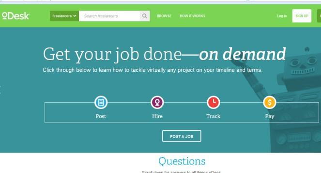 Portal de trabajo on-line