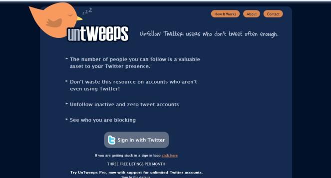 Herramienta para conocer a los usuarios inactivos