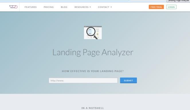 Herramienta para analizar tu landing page