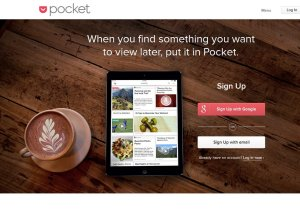 Pocket permite guardar noticias y leerlas más tarde