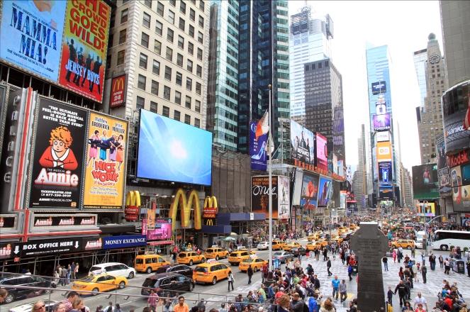 Times Square, espacio más fotografiado en New York