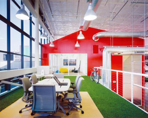 Oficina de la empresa Google