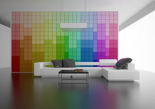 Decoracion-moderna-Pared-que-cambia-de-color